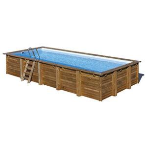 vista piscina de madera braga