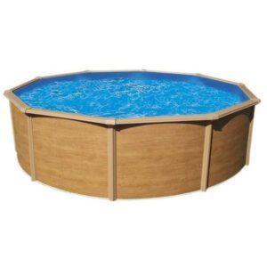 Piscina Punta cana imitación madera imagen