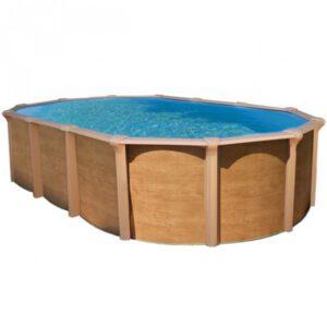 piscina Caracas imitación madera imagen