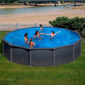 piscina Granada circular de GRE imagen