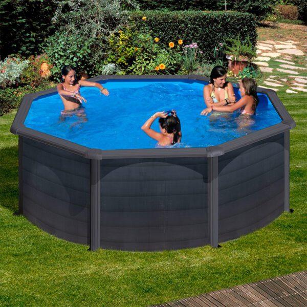 piscina Kea GRE circular