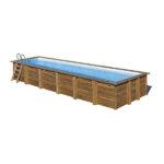 imagen piscina de madera Anise