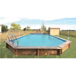 piscina de madera avila vista