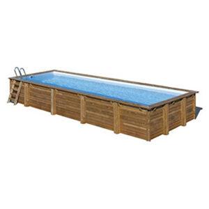 imagen piscina de madera Mint