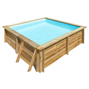 piscina de madera CITY de GRE imagen