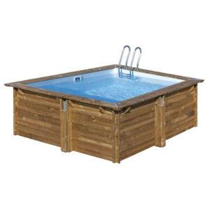 imagen piscina de madera carra