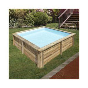 imagen piscina de madera city