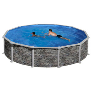 piscina Córcega circular de GRE imagen