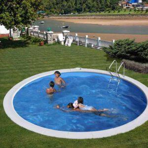 piscina Moorea circular de GRE imagen