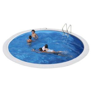 piscina Moorea circular de GRE fondo blanco imagen