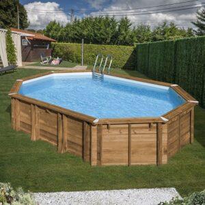 imagen piscina de madera Avocado