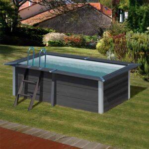 imagen piscina composite rectangular 3,26m x 1,86m (fondo jardín)