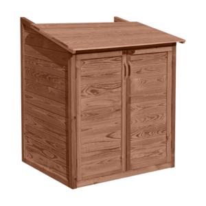 imagen caseta de madera depuradora