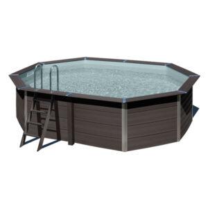imagen piscina de composite ovalada 5,24m x 3,86m
