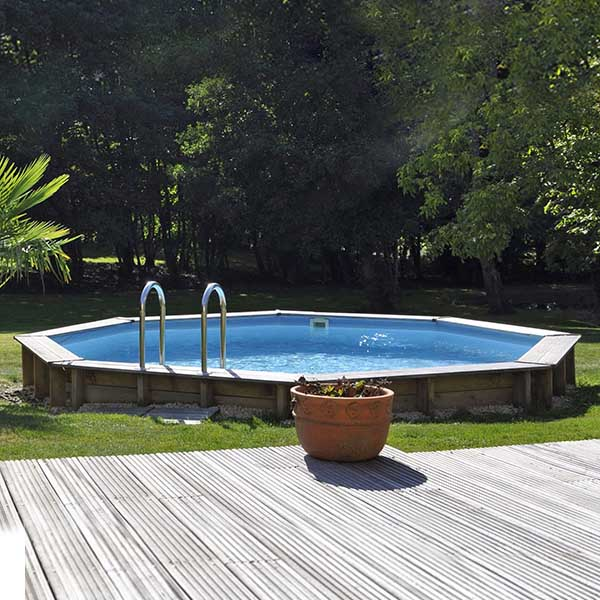 imagen piscina de madera Ananas (life style) 2 1