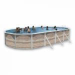 IMAGEN piscina pinus ovalada de TOI