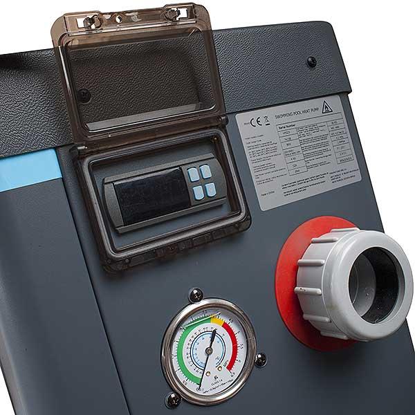 imagen Bomba de calor Easy Pool Heating GRE (Display)