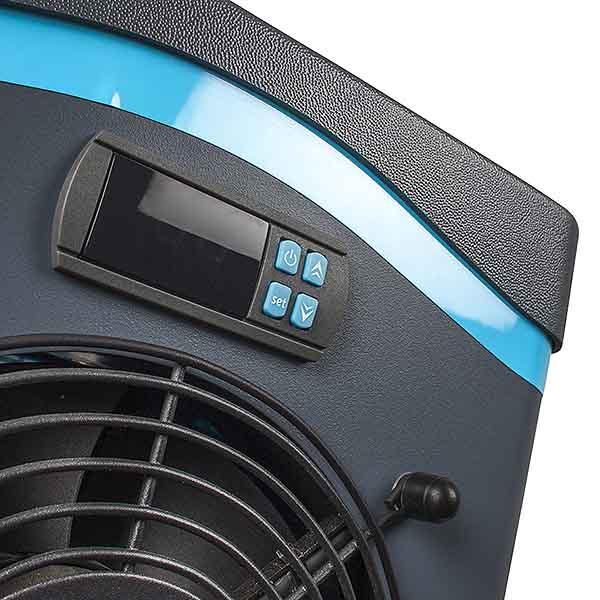 IMAGEN Display Mini Pool Heating gre