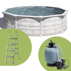 imagen Montaje-piscina GRE circular