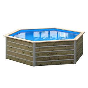 imagen piscina de madera bohol