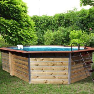 imagen piscina de madera fugua