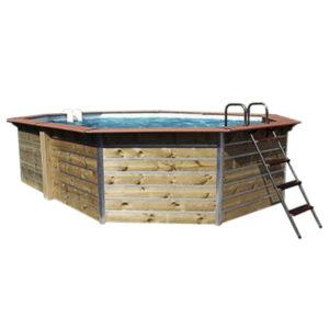 imagen piscina de madera lucon